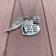 Load image into Gallery viewer, Your Wings Were Ready Necklace