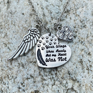 Your Wings Were Ready Necklace