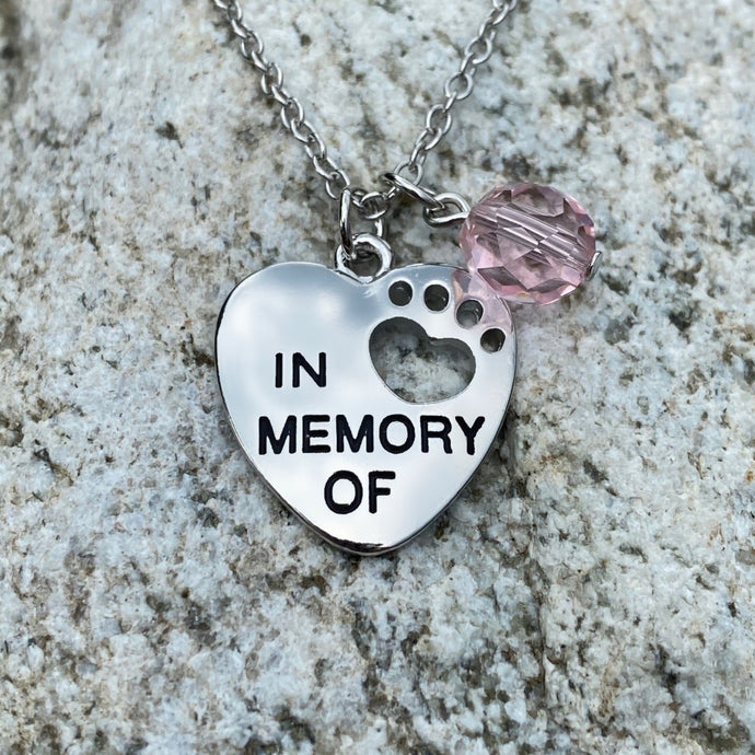 In Memory Of Necklace
