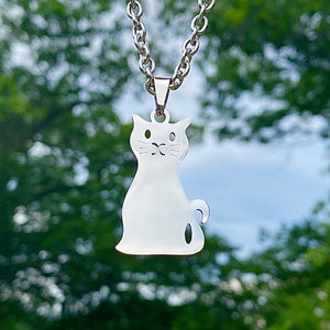 Sitting Cat Necklace