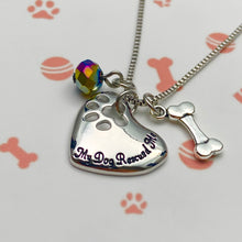 Load image into Gallery viewer, My Dog Rescued Me Necklace