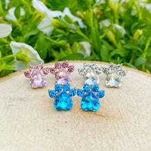Load image into Gallery viewer, 3Pcs Gemstone Paw Earrings Bundle