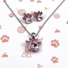 Load image into Gallery viewer, Pink Gemstone Paw Bundle