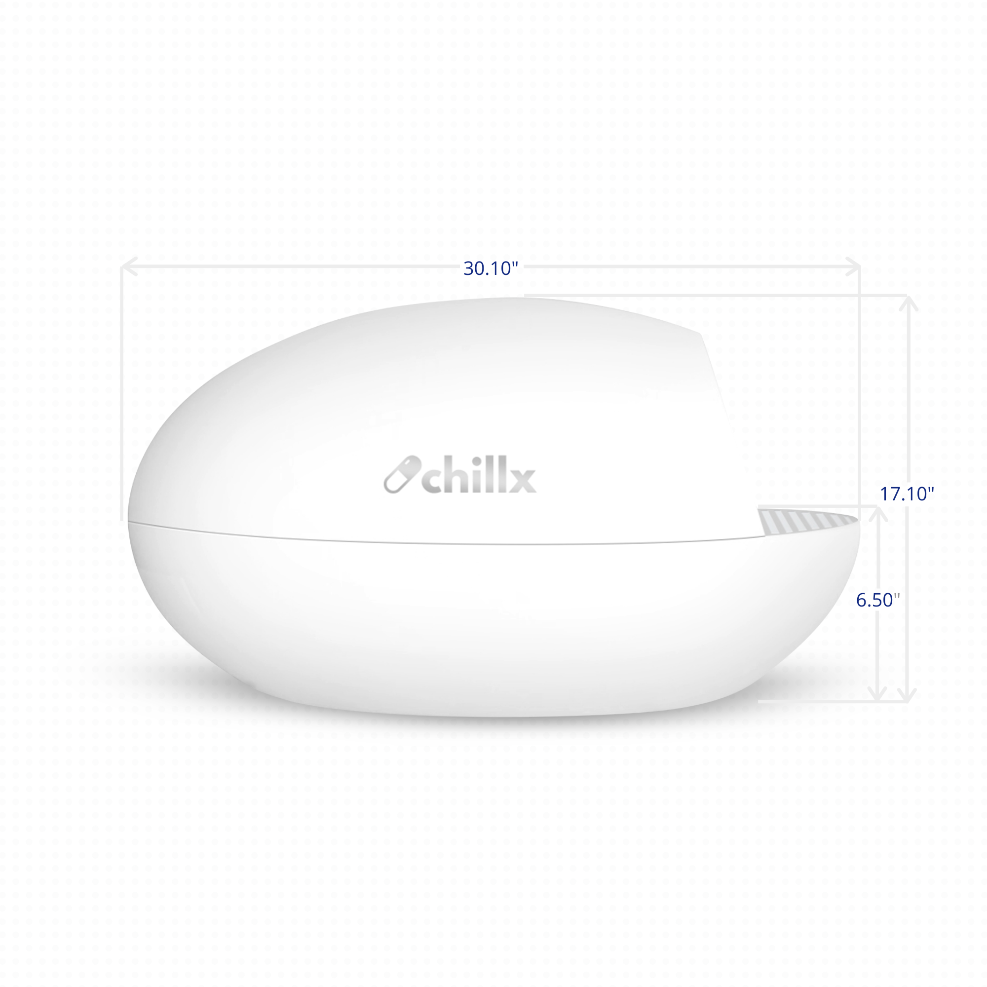 ChillX AutoEgg Automatic Litter Box Dimension