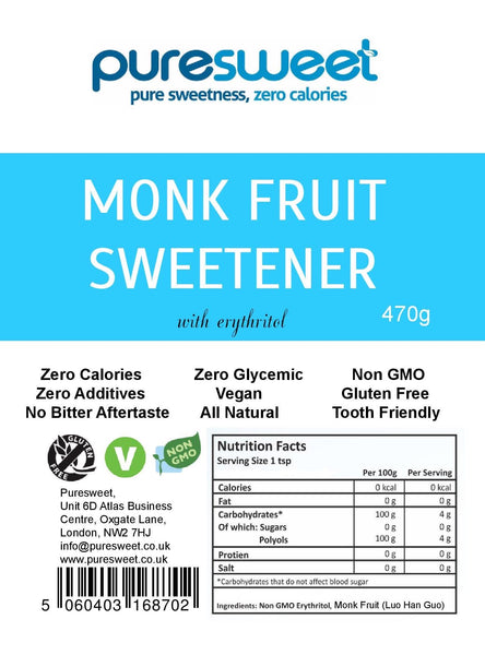 Puresweet Natural Fruit Sweetener 470g