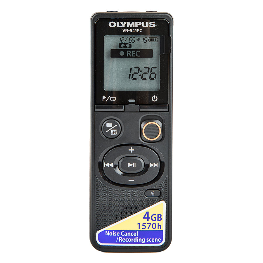 Image of Olympus Digital Recorder Black VN-541PC
