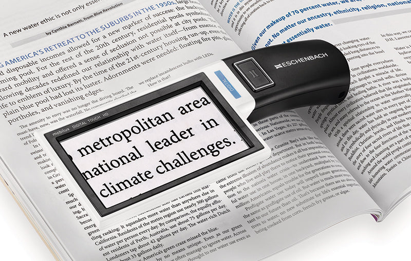 Image of Mobilux Digital Touch HD Video Magnifier