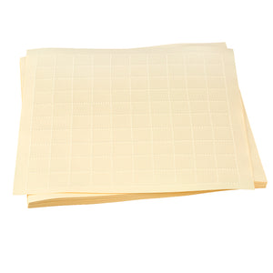 Image of Embossed Graph Paper 1in Squares