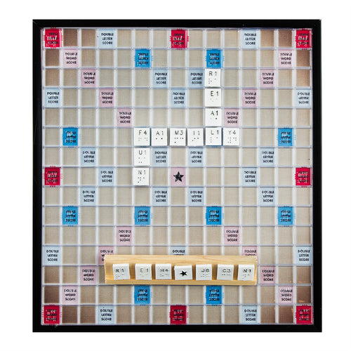 Scrabble Braille Deluxe