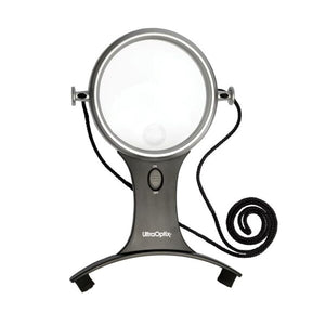 Image of 1.5X Around Neck Magnifier Round LED With 3X Bifocal