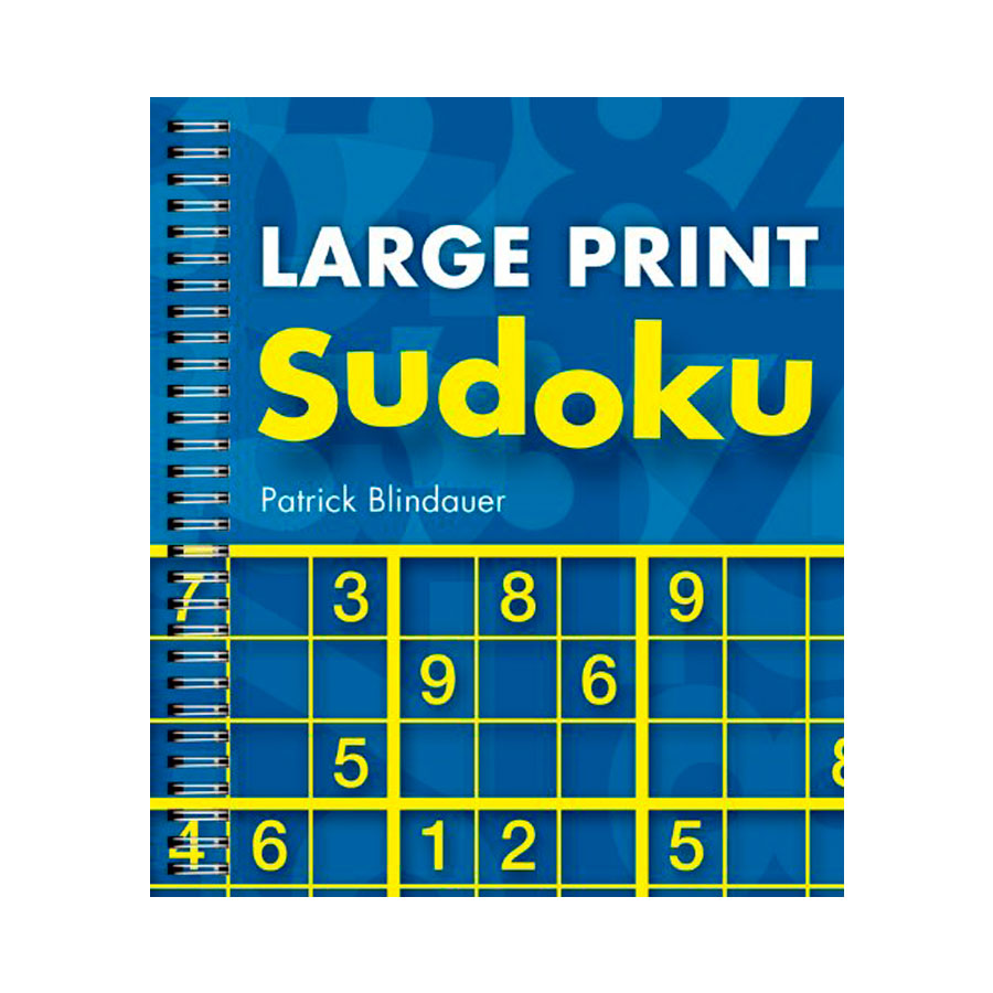 Image of Large Print Sudoku