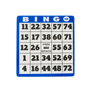 Image of Easy-To-See Bingo Card