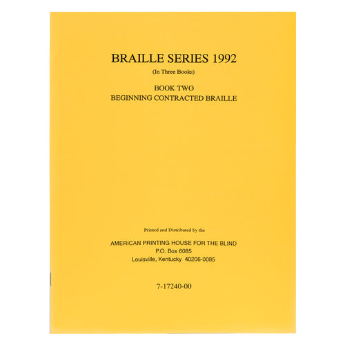 Teachers Manual Braille Series Book 2