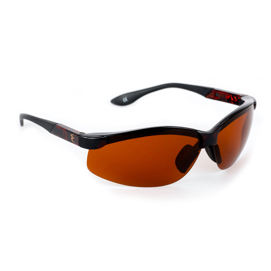 Image of Solar3 Wrap Around Sunglasses- Amber