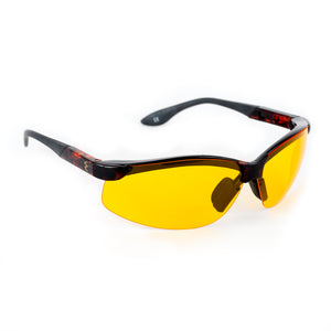 Image of Solar3 Wrap Around Sunglasses- Yellow
