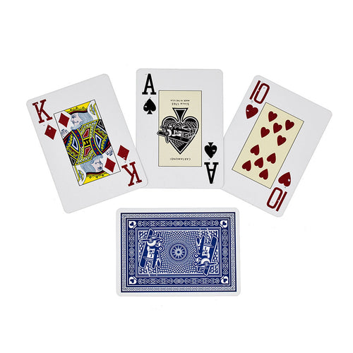 Cartes À Jouer Braille Blue Poker Anglais