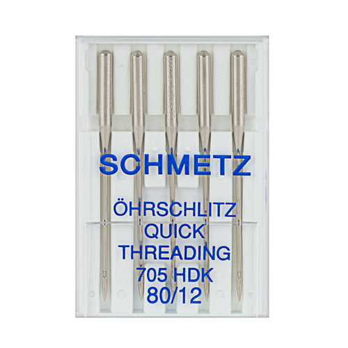 Self-Threading Sewing Machine Needles Pack/5