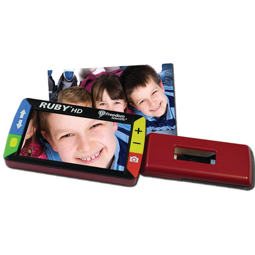 Ruby HD Handheld Video Magnifier