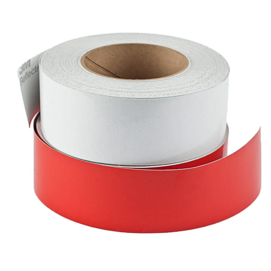 Image of Reflective Conspicuity Tape 2in - Red - Sold By Yard