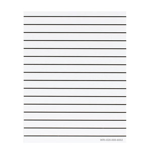 Image of Lined Paper Pad - 5/8 inch Spacing