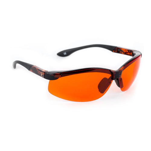Solar3 Wrap Around Sunglasses- Orange