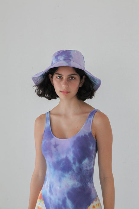 Vacationer Hat West - Grape