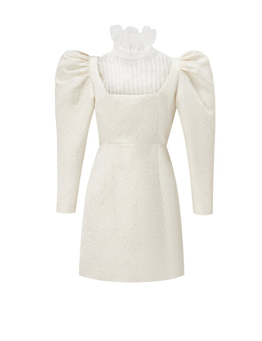 Marlo Dress - White