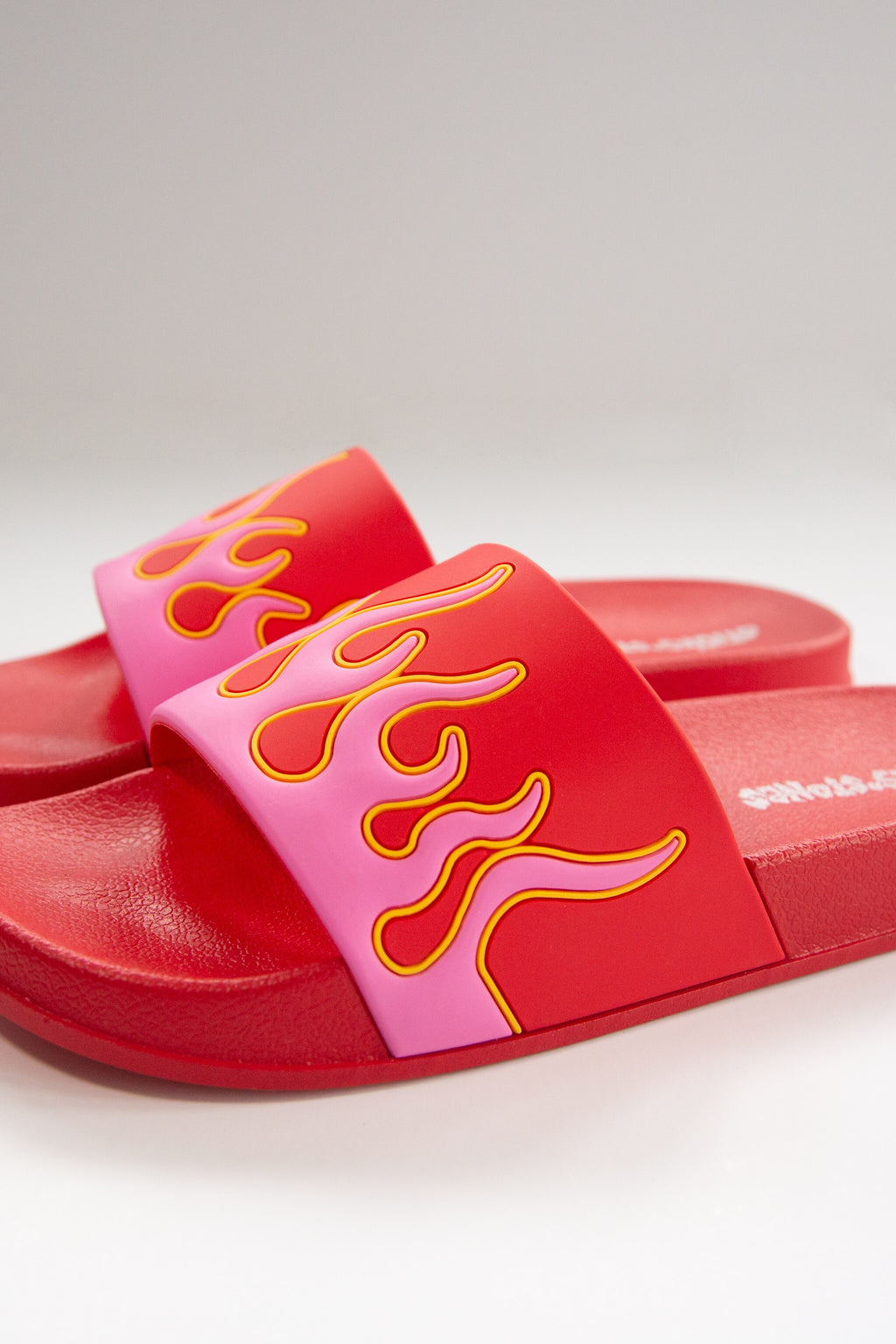 Flame Slides - Red/Pink