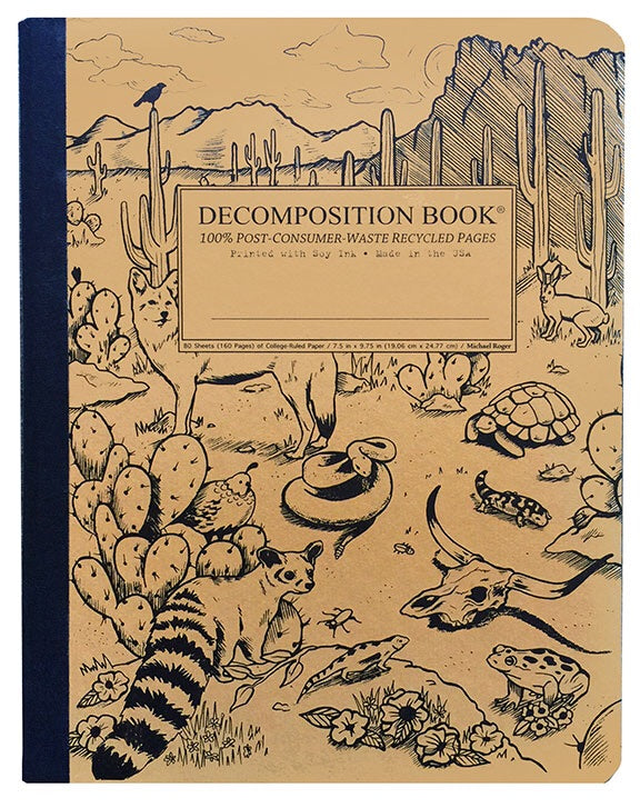 Desert Animals Decomposition Notebook