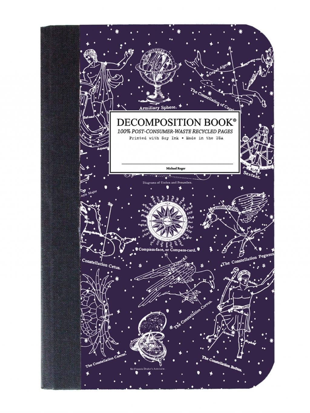 Pocket Sized Celestial Decomposition Notebook