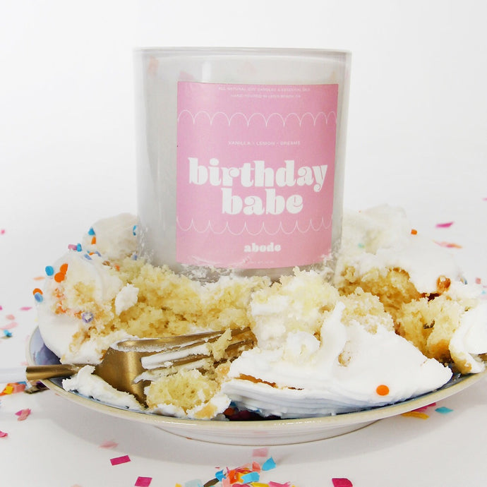 Birthday Babe Candle