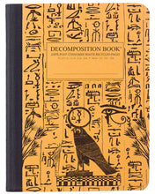 Load image into Gallery viewer, Hieroglyphics Decomposition Notebook