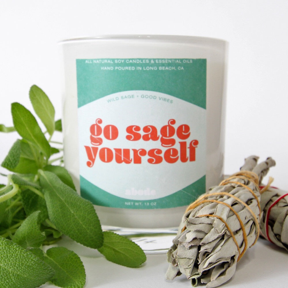 Go Sage Yourself Candle