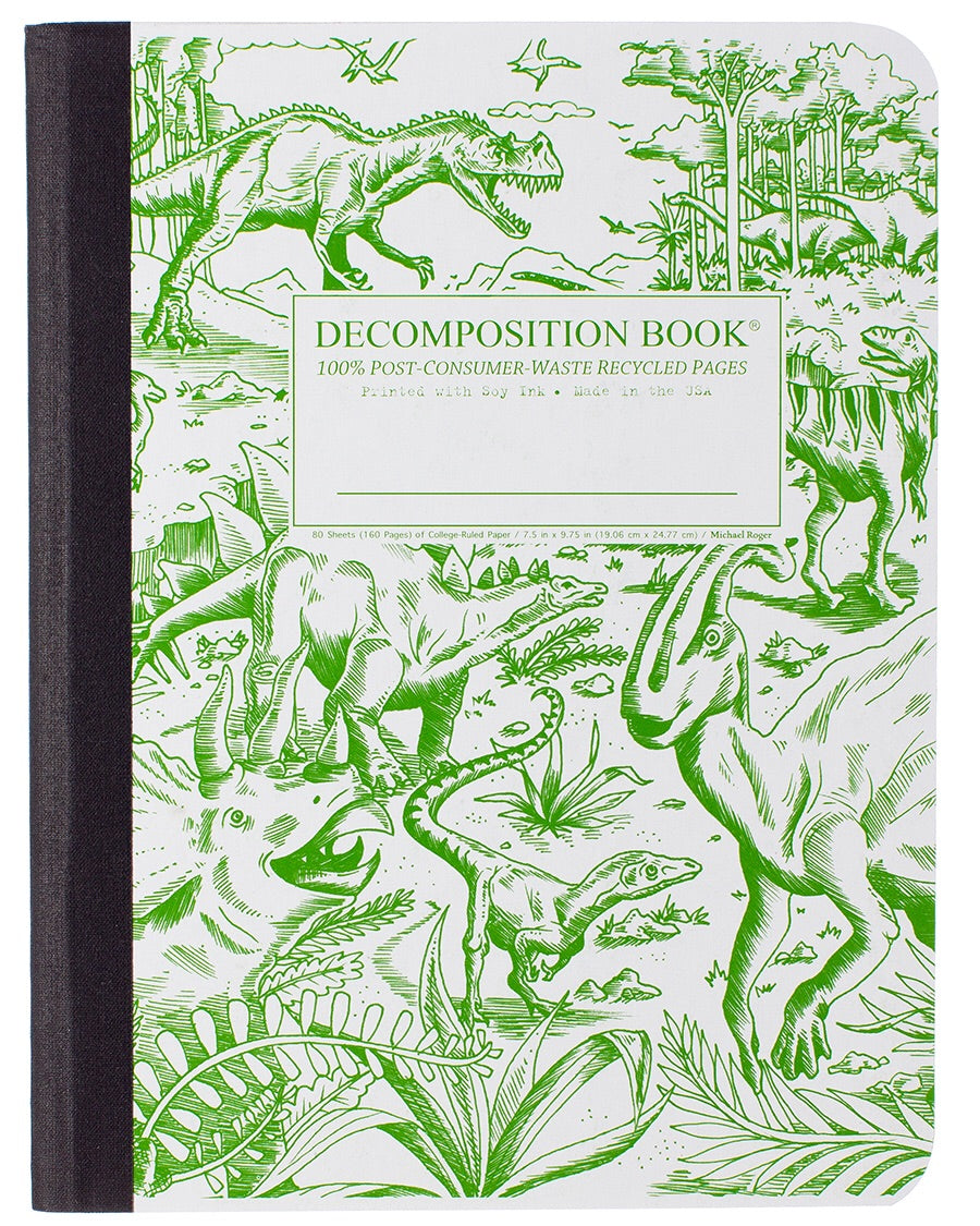 Dinosaur Decomposition Notebook