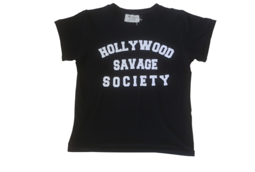 Hollywood Savage Society T-Shirt - Black