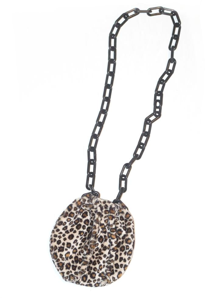 Cinched Pouch - Cheetah Print