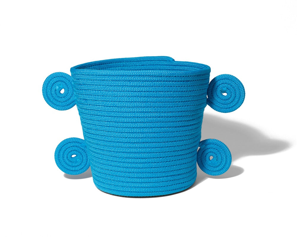 Spiral Basket - Blue