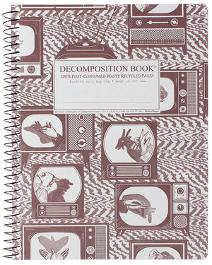 Shadow Puppets Spiralbound Decomposition Notebook