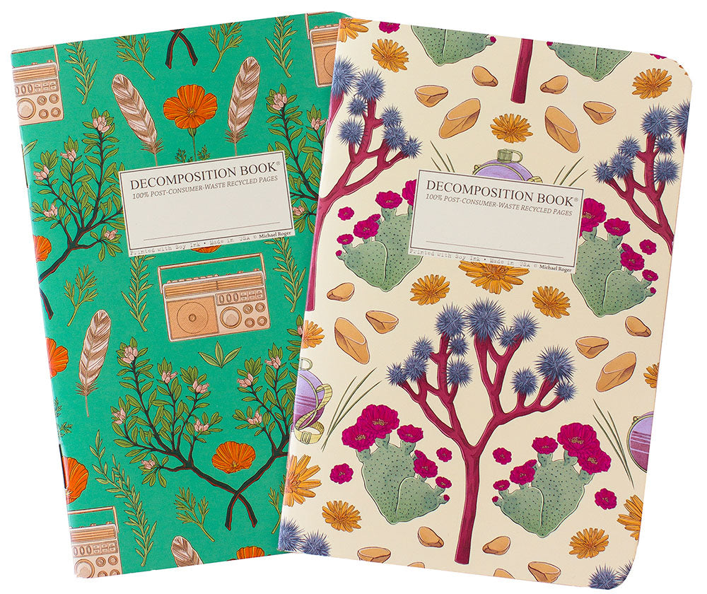 Joshua Tree/Wind Wolves Pocket Notebook sets