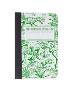 Pocket Sized Dinosaur Decomposition Notebook