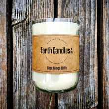 Load image into Gallery viewer, Cape Reinga Tealight candles. Proudly made in New Zealand by Earth Candles. 360 gram candle
