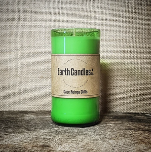 Cape Reinga Tealight candles. Proudly made in New Zealand by Earth Candles. 200 gram candle