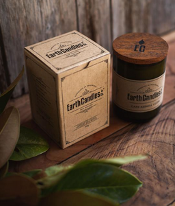 Earth Candles. Soy candles made in New Zealand from Earth Candles