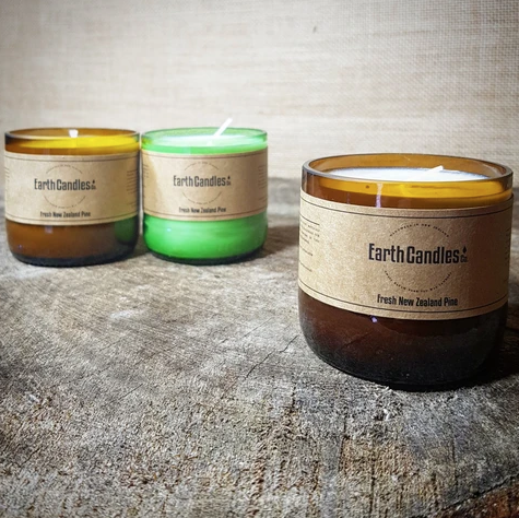 Fresh New Zealand Pine - Soy Tealight Candles