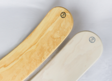 Load image into Gallery viewer, Middle Moon rockit balance board. Made in New Zealand and whitewash