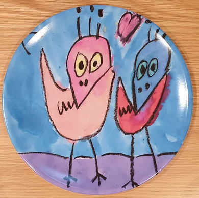Plate On - Art, On A Plate