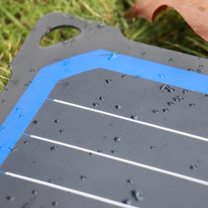 SunSaver Super Flex, 14-Watt Solar Charger. it is water resistant.