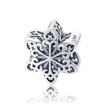 Load image into Gallery viewer, Silver & Rose Gold Snowflake Charms