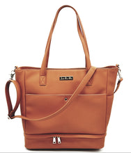 Load image into Gallery viewer, 'Chloe' Tote Changing Bag (Tan)