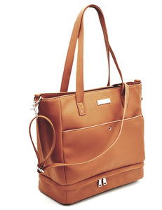 'Chloe' Tote Changing Bag (Tan)